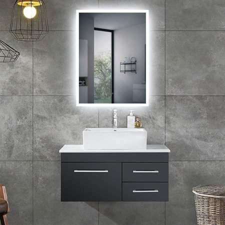 Aster Led Bathroom Wall Mirror Walmart Com In 2021 Washroom Design Washbasin Design Mirror Wall Bathroom