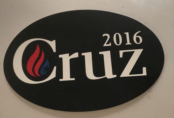 2016 Ted Cruz bumper sticker (Republican Party)