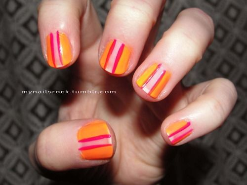 Orange & Pink color combo