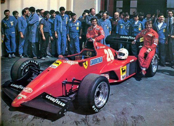 Patrick Tambay - René Arnoux Ferrari 1983