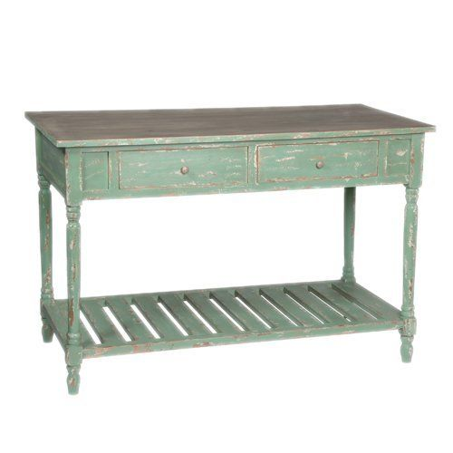 french shabby chic vintage style green console table sideboard by by olive and sage http chic shabby french style distressed