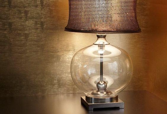 Marcel Copper Table Lamp (fancy)