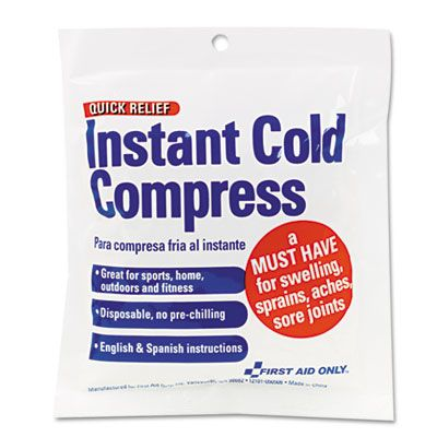 First Aid Only Z6005 Instant Cold Compress #Z6005 #FirstAidOnly #ColdPacks  https://www.officecrave.com/first-aid-only-z6005.html