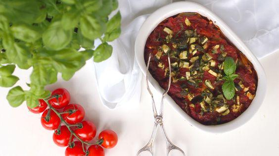 vegane Gemüse- Zucchinilasagne