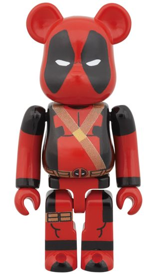 Deadpool Bearbrick 100%