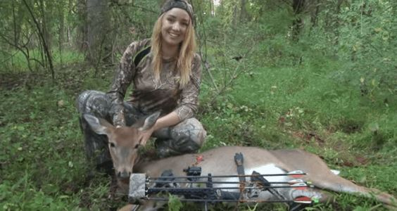 Best Day Ever: Young Woman Scores Her First Bowhunt Doe [VIDEO] - Wide Open Spaces