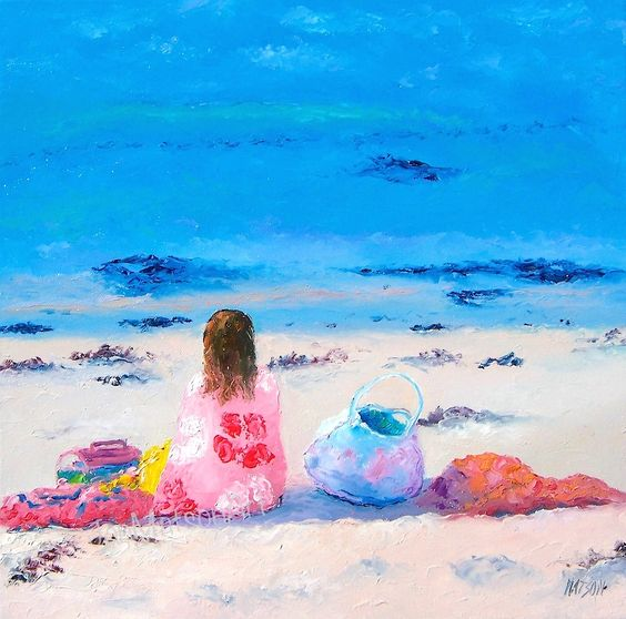Beach decor, beach painting, beach house style, coastal living, beach home interiors, beach house decorating, beach prints,