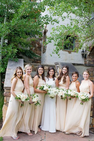 Mountainside Colorado Lodge Wedding