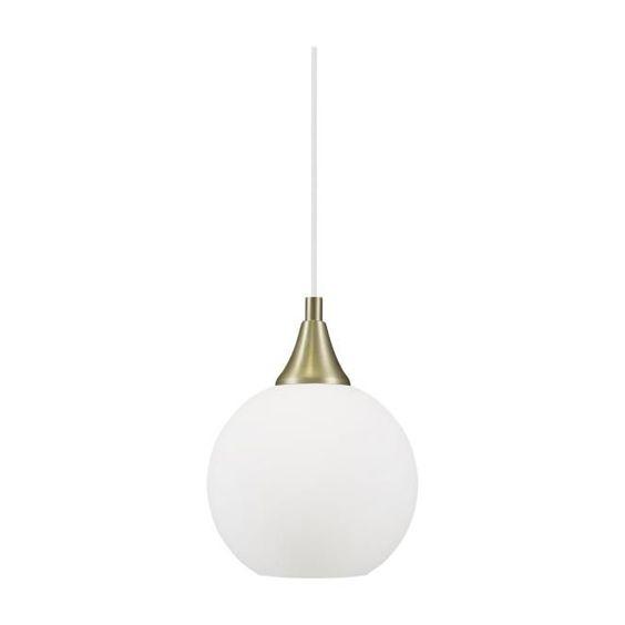 Vit Enfargad Pendellampa Bowl Mini Globen Lighting Med Bilder Belysning Tak Hem Inredning Mini