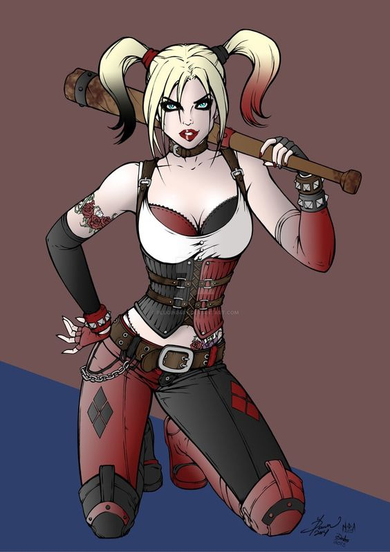 Harley Quinn by Debbie (Plugin848y)