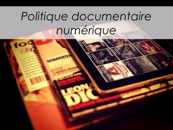 politique-documentaire-des-ressources-numriques-biblioquest-2013 by Le Lirographe via Slideshare