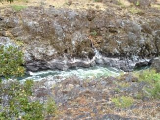 Rogue River from above
