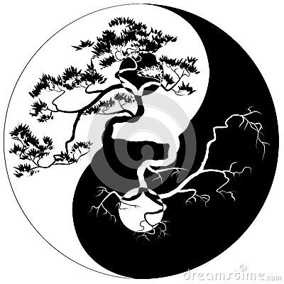Yin Yang Bonsai Higher Being Pinterest Trees Tree