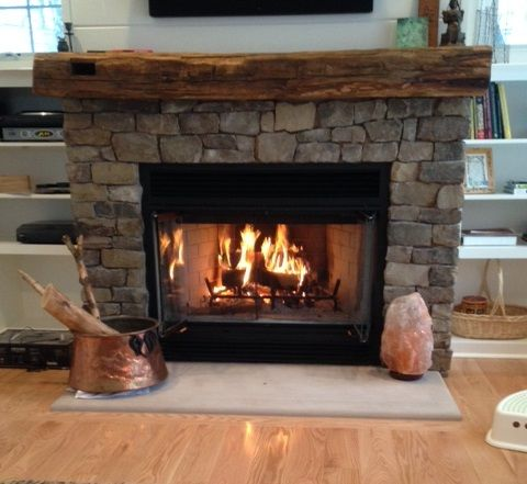 Reclaimed Fireplace Mantel | Rustic Fireplace Mantels | Ohio ...