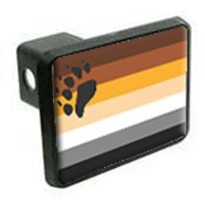 Bear Flag Hitch Cover