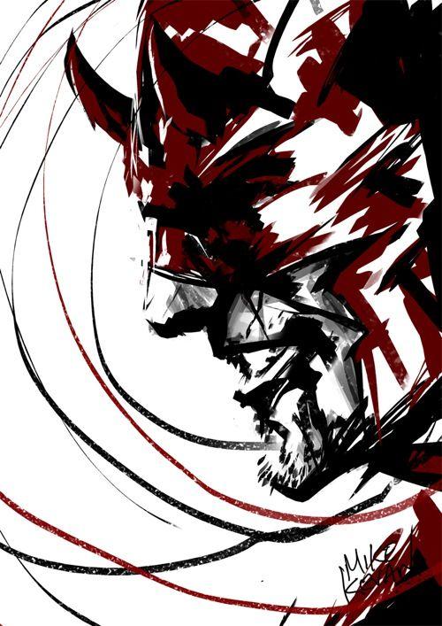 Daring line-work.    Weekly Sketch Up - 02.22.2013