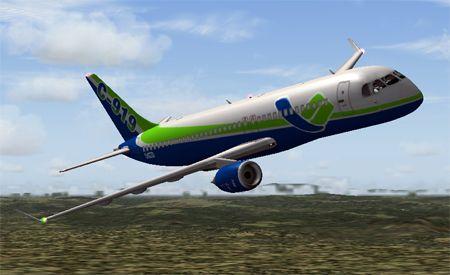APU for the COMAC C919