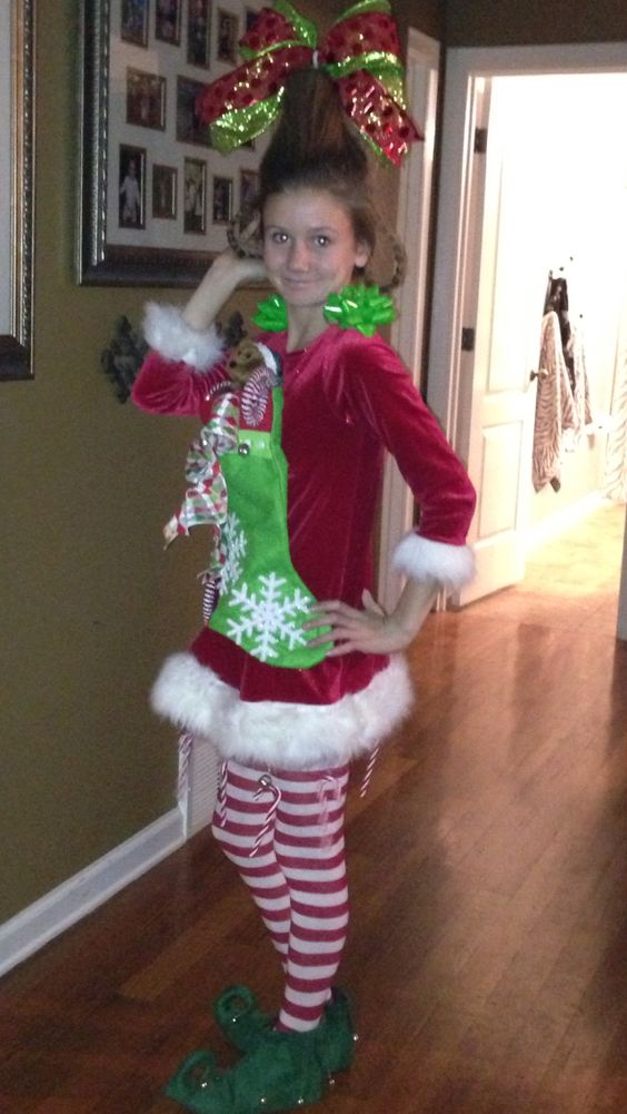 Cindy lou who, Cindy lou and Tacky christmas party on ...