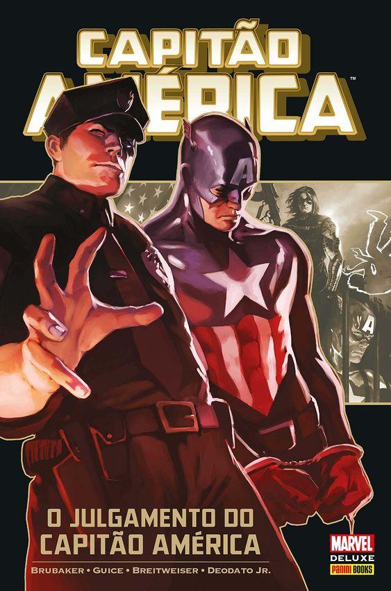 Capitão América - O Julgamento do Capitão América - Marvel Deluxe - MonsterBrain