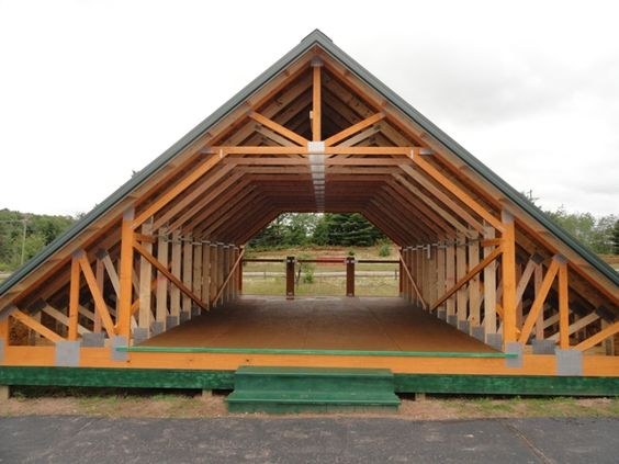 Skandia truss room in attic construction pinterest for Pole barns ontario