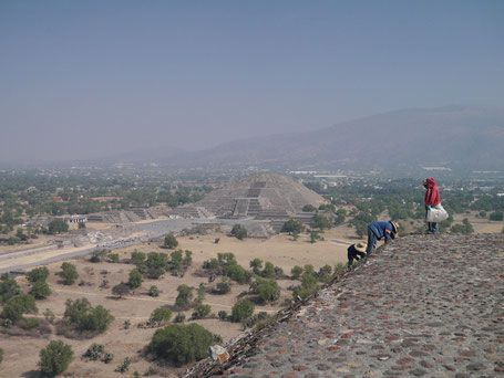 Teotihuacan Mexique