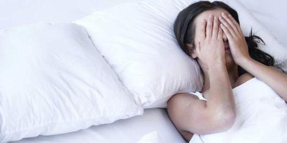 dificuldades pra dormir