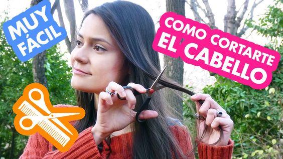Como cortarte el cabello de una forma muy fácil. DIY - HAIR - HAIRCUT - HAIRCARE - LONGHAIR
