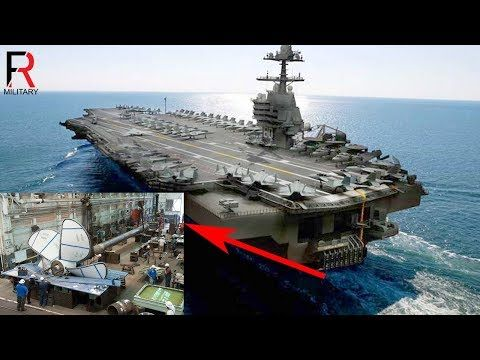 The Uss Gerald R Ford Aircraft Carrier Has A Seriously Big