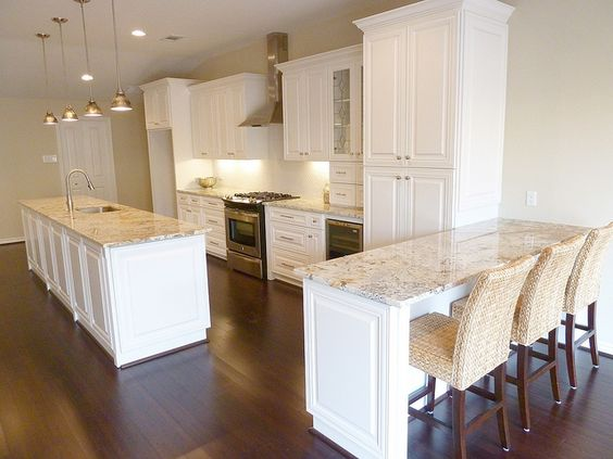 Love Quot White Springs Quot Granite With Off White Cabinets And