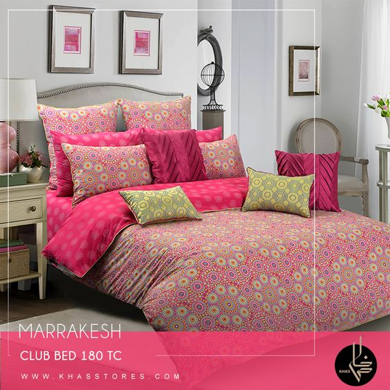 MARRAKESH Drawing inspiration from the souks of Marrakesh this heady, frantic design is sure to add some of the charm and romance of the medieval city to room. Shop Now: https://goo.gl/Kc1iqi #khasstores #bedding #marrakesh #home #newarrivals