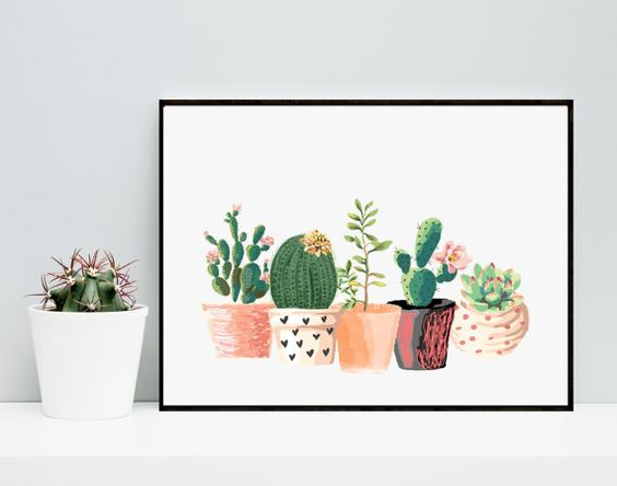 Watercolors Home decor and Artsy on Pinterest