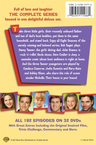 Full House The Complete Series Collection Http Www Videoonlinestore Com Full House The Complete Series Collection 5 Full House Dvd Full House Child Actors