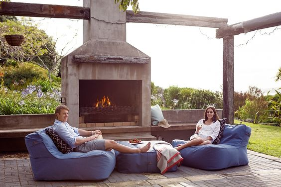Comfy Outdoor Bean Bag Chairs