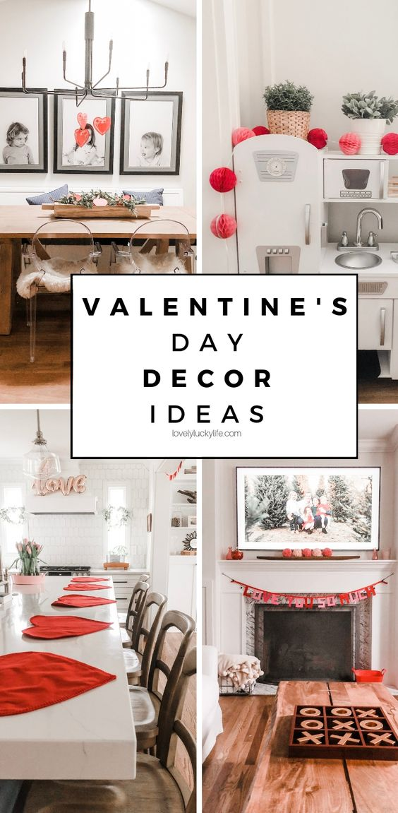 13 Adorable But Simple Valentine S Day Decorations Ideas Valentines Day Decorations Simple Valentine Valentine Table Decorations