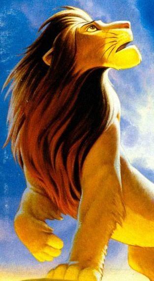 The Lion King artwork.