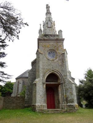 la chapelle Saint-Joseph de Penboc'h, l'extérieur à Arradon , Morhiban, Bretagne