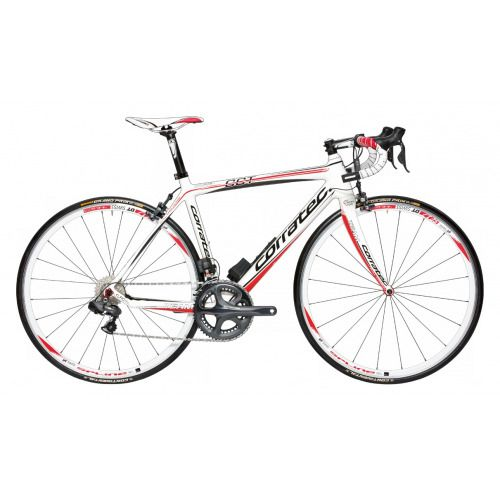 CORRATEC Road Fahrrad Carbon S 48 cm white Rod | Carbon