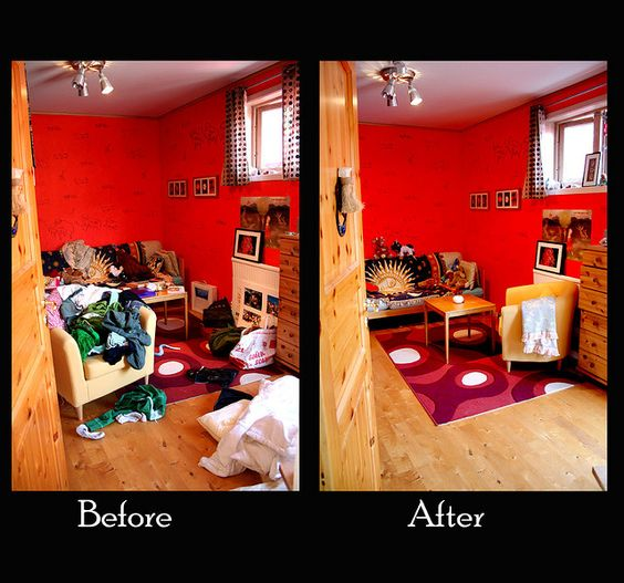 On friday Im going to graduate so we are having a lot of people over to celebrate. Beacause of this (and the increasing health problem) in my room I had to clean it. So here you can see how good I have been today tidying up my room. Crazy! See This! http://all4betterlife.com