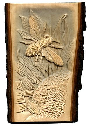 Carving carving wood and woodcarving on pinterest for Best wood for chip carving