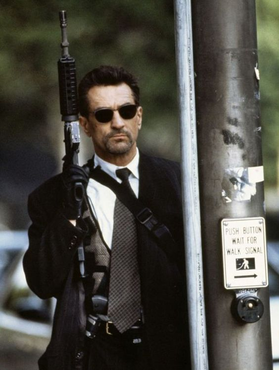 "Neil McCauley, ""Bank Robber"", Robert de Niro, ""Heat"", Michael Mann,  1995."