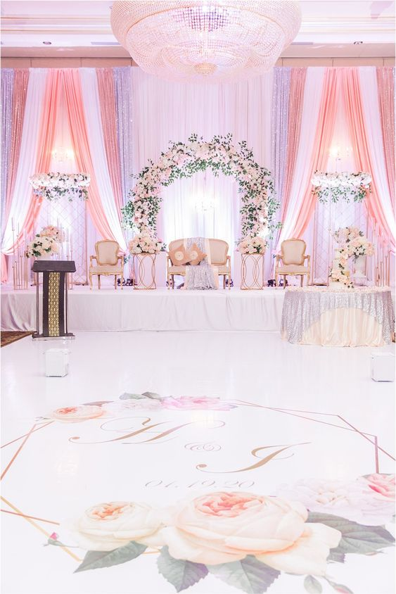 Top 5 Pastel Wedding Dazzling Decor Ideas, 92e774e0b69cb37e35056acca9aabf0c