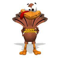 Turkey Happy Thanksgiving Sign Text animation animations animated happy thanksgiving gif gifs smilie smiley smilies smileys photo by prestonjjrtr