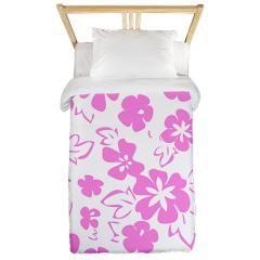 Floral Pattern Twin Duvet - Custom Design Store