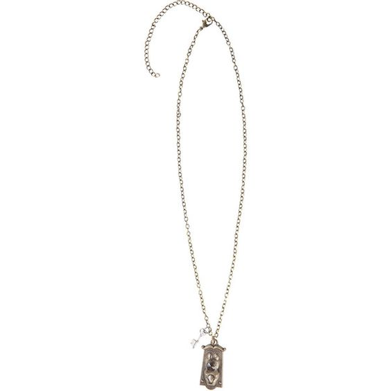 Disney Alice In Wonderland Doorknob Necklace Hot Topic ($11) ❤ liked on Polyvore featuring jewelry, necklaces, pendant necklace, disney jewellery, pendant jewelry, disney pendants and disney necklace