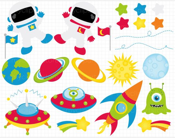 Outer Space Border Clipart Clip