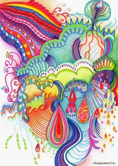 Le zentangle est un univers fantastique de motifs répétés, de formes enchevêtrées et de poésie visuelle. Ayant en tête les nuances apportée...
