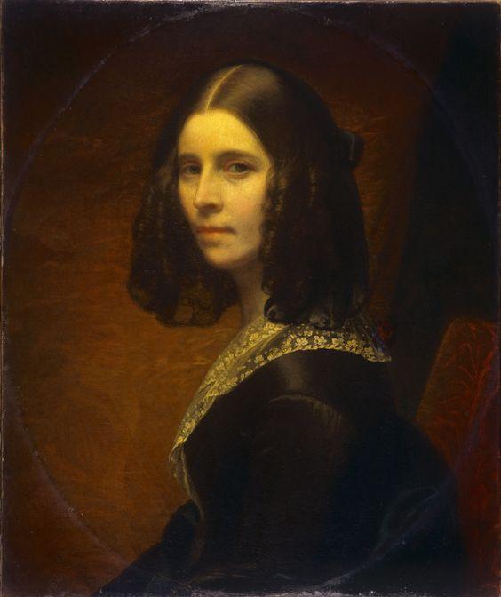Sophie Rude, Autoportrait, huile sur toile, 1841: