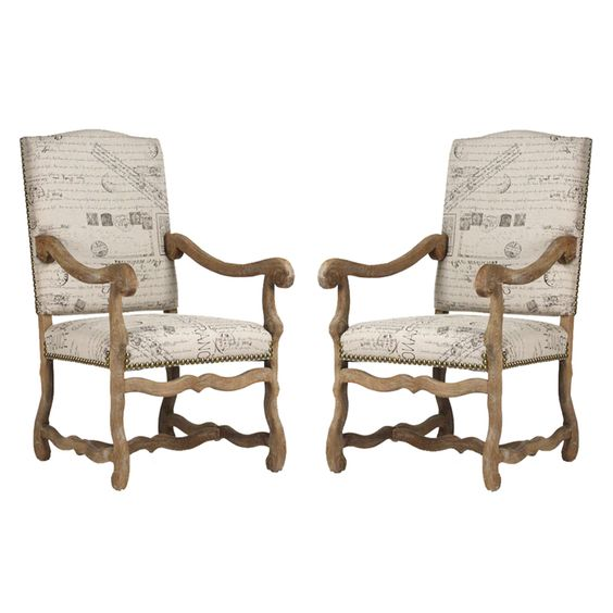 French script chairs and on pinterest