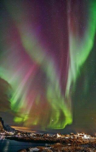 Norvegia: aurora boreale