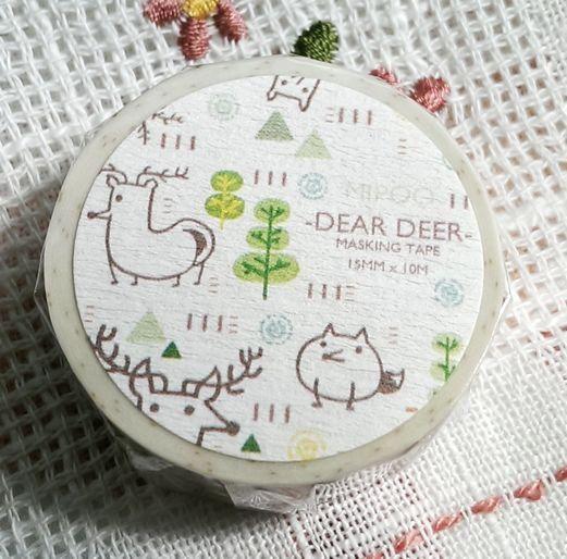 台灣原創 M I P O O 米噗 Dear Deer